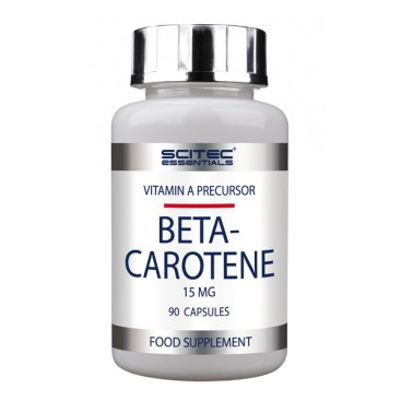 In nature, Beta Carotene is a precursor to Vitamin A (inactive form).