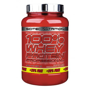 100% Whey Protein Professional 920g + 20% Gratuit