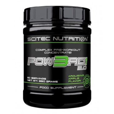 POW3RD! 2.0 is a sophisticated, proprietary pre-workout support formula.