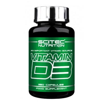Vitamin D3 -  250 capsule