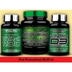 Vitamin Pack  MultiPro+Vit C1100+Vit D3