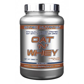 With quality whey protein! eat with a spoon or drink!