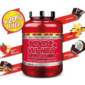 100% Whey Protein Professional 2820g + 20% gratis