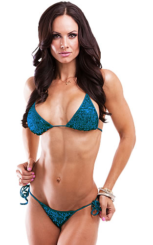 BROOKE MORA IFBB Bikini pro, Tournament of Champions 2010 2nd place Team Scitec