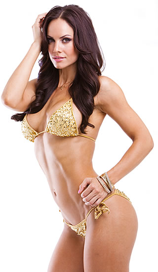 BROOKE MORA - IFBB Bikini pro, Tournament of Champions 2010 2nd place Team Scitec